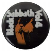 Black Sabbath - 'Vol 4' Button Badge